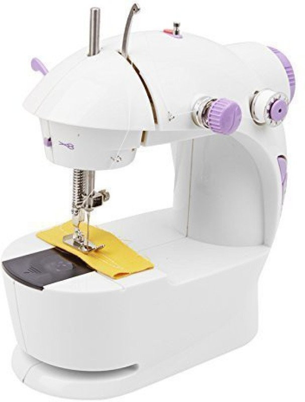 Shrih Mini Desktop Multi functional Electric Sewing Machine Household Double Stitches Sewing Tools Electric Sewing Machine( Built-in Stitches 1)