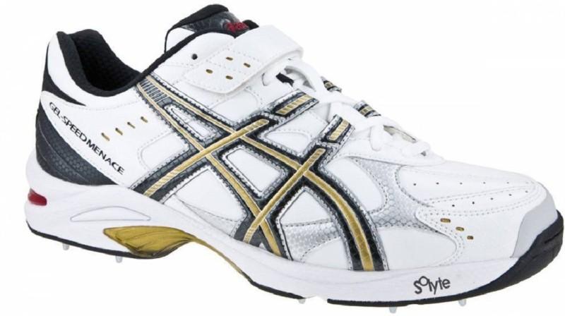 Asics GEL - SPEED MENACE Cricket Shoes For Men(White)