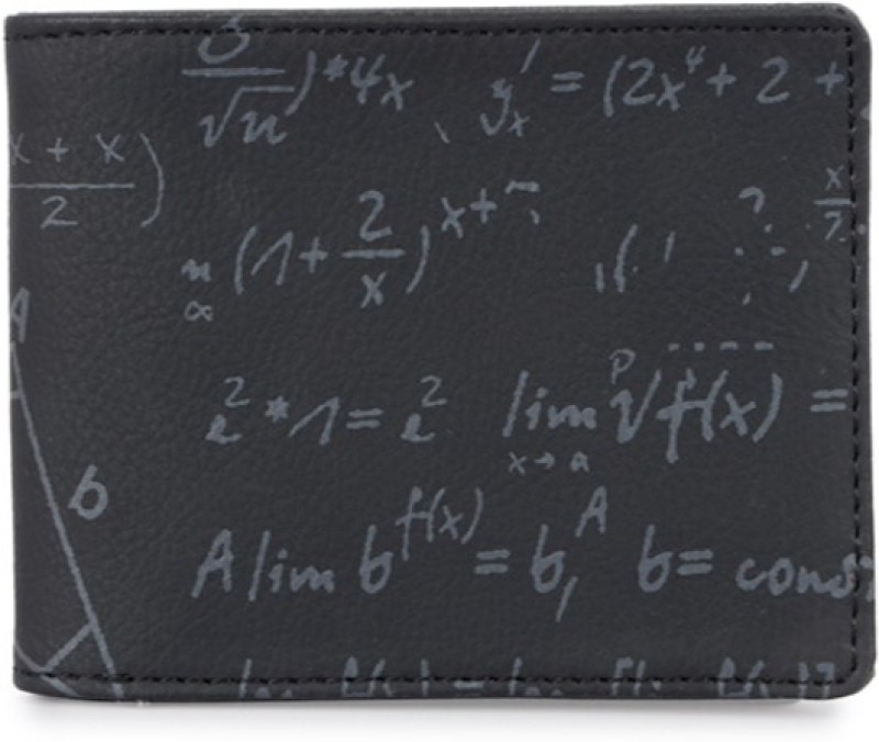 Baggit Men Black Artificial Leather Wallet(6 Card Slots)