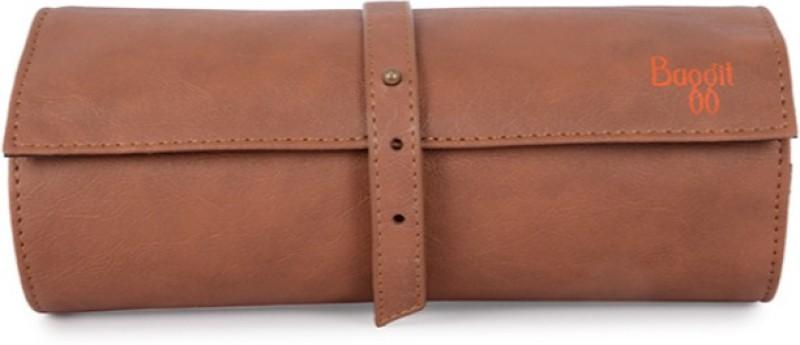Baggit Women Tan Artificial Leather Wallet(6 Card Slots)
