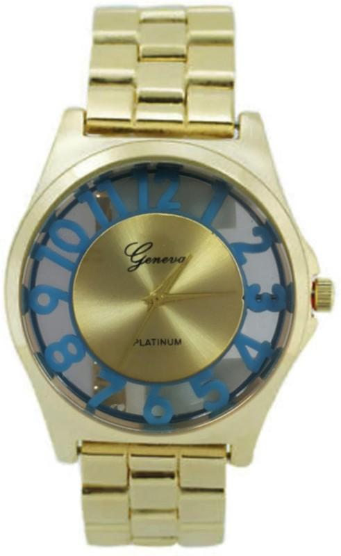 Geneva Quartz GW011GBL Watch - For Men