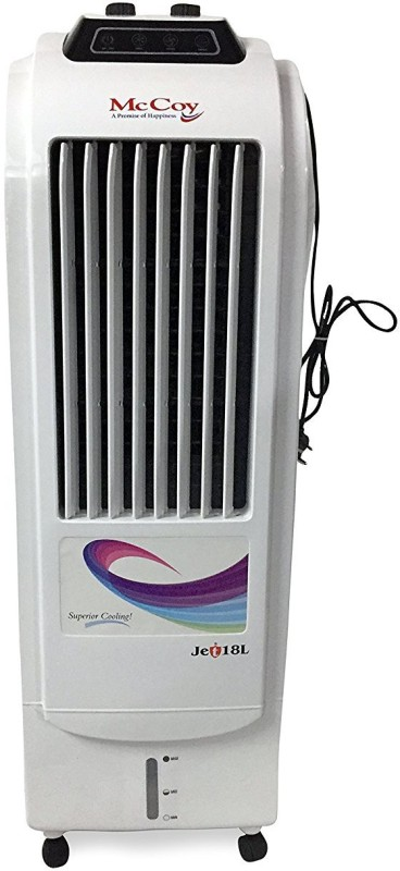 mccoy JET 18L Tower Air Cooler(White, 18 Litres)