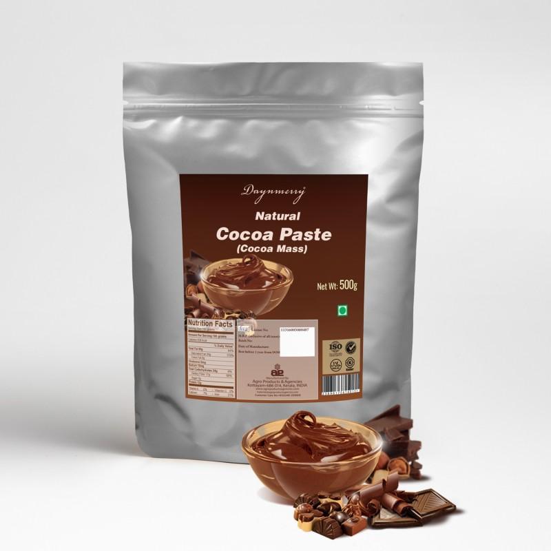 Daynmerry Natural Cocoa Paste Cocoa Semi Solid(500 g)