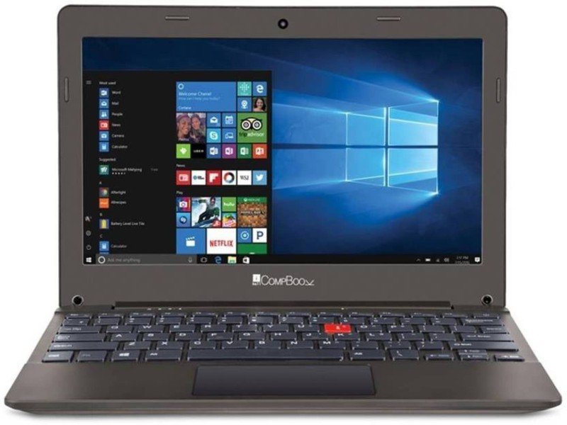 Iball Compbook-OHD Atom - (2 GB/32 GB EMMC Storage/Windows 10/128 MB Graphics) Compbook-OHD Laptop(11.6 inch, Brown) image