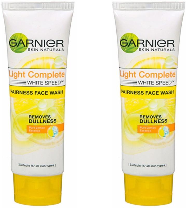 Garnier Light Complete Fairness (Pack of 2) Face Wash(50 g)