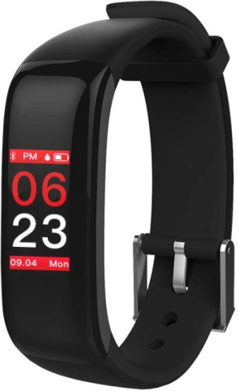 Omnix P1 Plus Fitness Band(Black, Pack of 1)