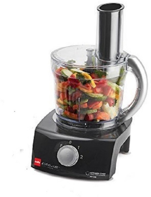 Cello Kitchen Chef KC-FP-100 400-Watt Food Processor 350 W Food Processor(Black)