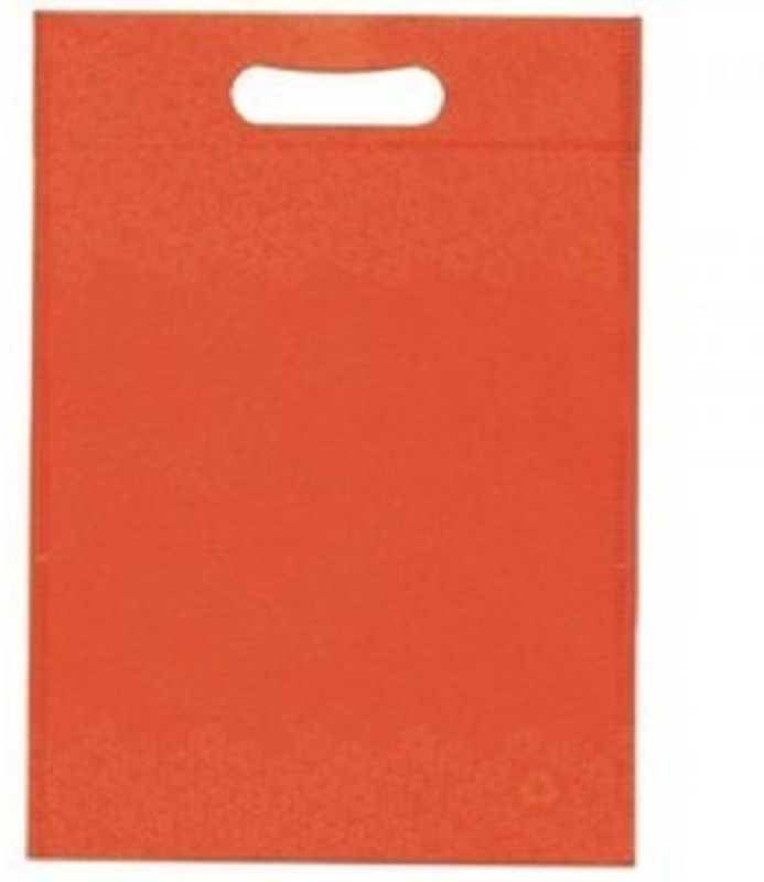 Impressions Pack of 100 Grocery Bags(Orange)