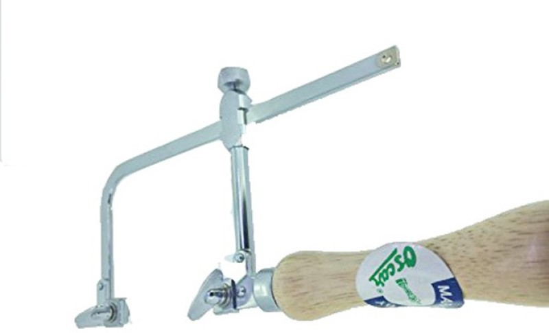 Oscar JEWELERS SAW FRAME ADJUSTABLE WOOD HANDLE JEWELRY MAKING HAND TOOLS 70MM Coping Saw(6 inch Blade)