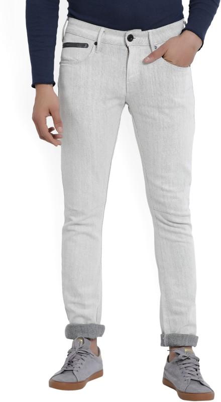 Wrangler Skinny Mens Beige Jeans
