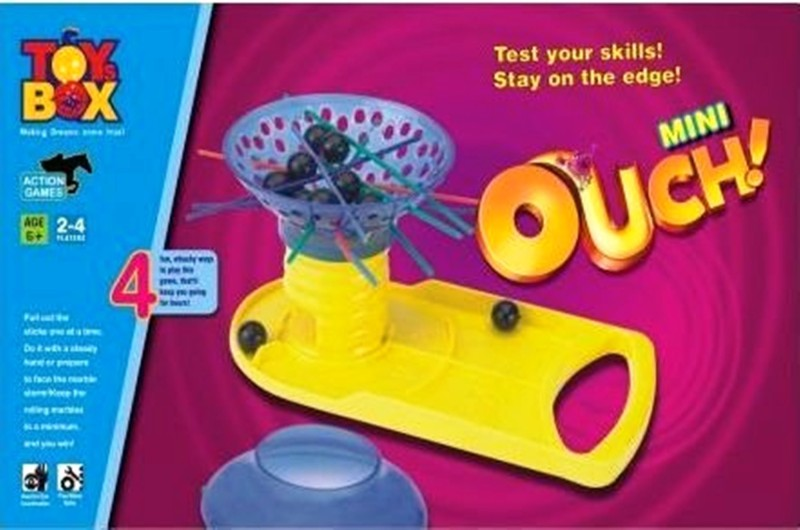 Gauravshopo Original ouch game mini for concentration building for strategic kids Marble Goti
