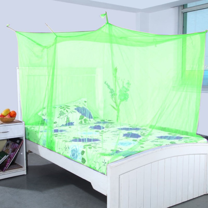 Super Nylon Adults kal-net-03 Mosquito Net(parrot green)