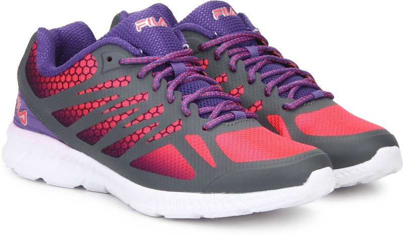 Fila MEMORY SPEEDSTRIDE Running Shoes For Women(Grey, Pink)