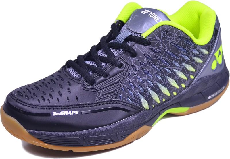 Yonex Badminton Shoes For Men(Black, Grey)