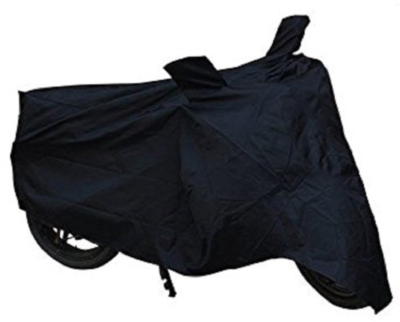 A R Two Wheeler Cover for Royal Enfield(Classic 350, Black, Grey)