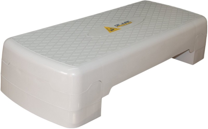 Electrobot Sport Adjustable Exercise Equipment Step Platform For Sports & Fitness Balance Step(White)