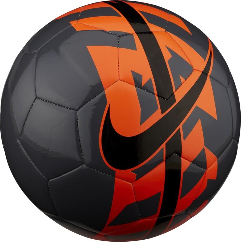 Nike REACT Football - Size: 5(Pack of 1, Grey, Orange, Black)