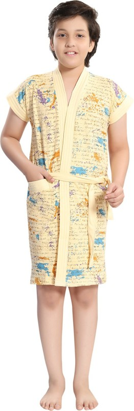 Be You Beige XS Bath Robe(1 Bathrobe with belt, For: Baby Boys & Baby Girls, Beige)