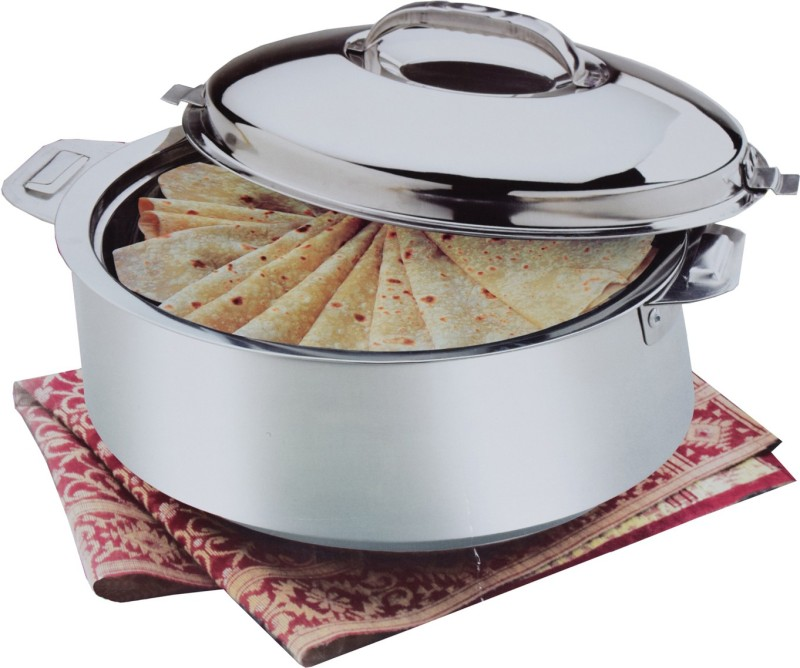 Kuber Industries Extra Large Size Casserole/Hotpot,Chapati Box/Chapati Container/Hot Case In Stainless Steel (20,000Ml) CAS15K07 Casserole(20000 ml)