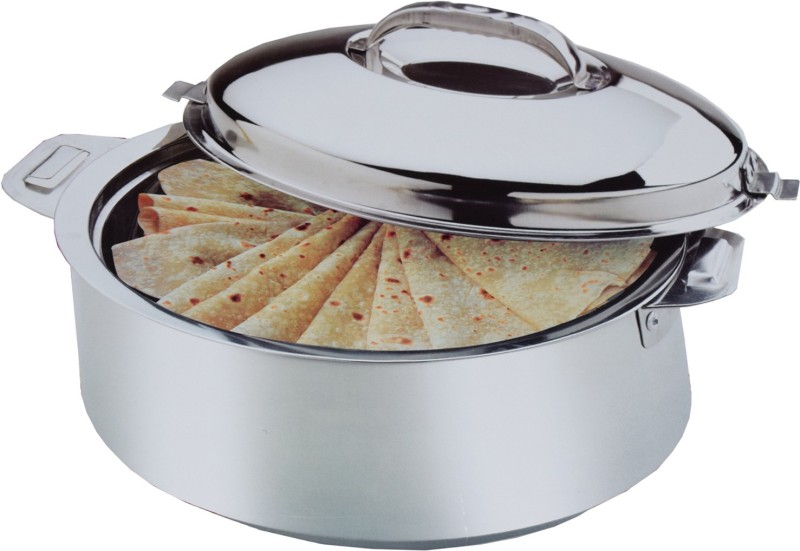 Kuber Industries Extra Large Size Casserole/Hotpot,Chapati Box/Chapati Container/Hot Case In Stainless Steel (15000Ml) CAS15K Casserole(15000 ml)