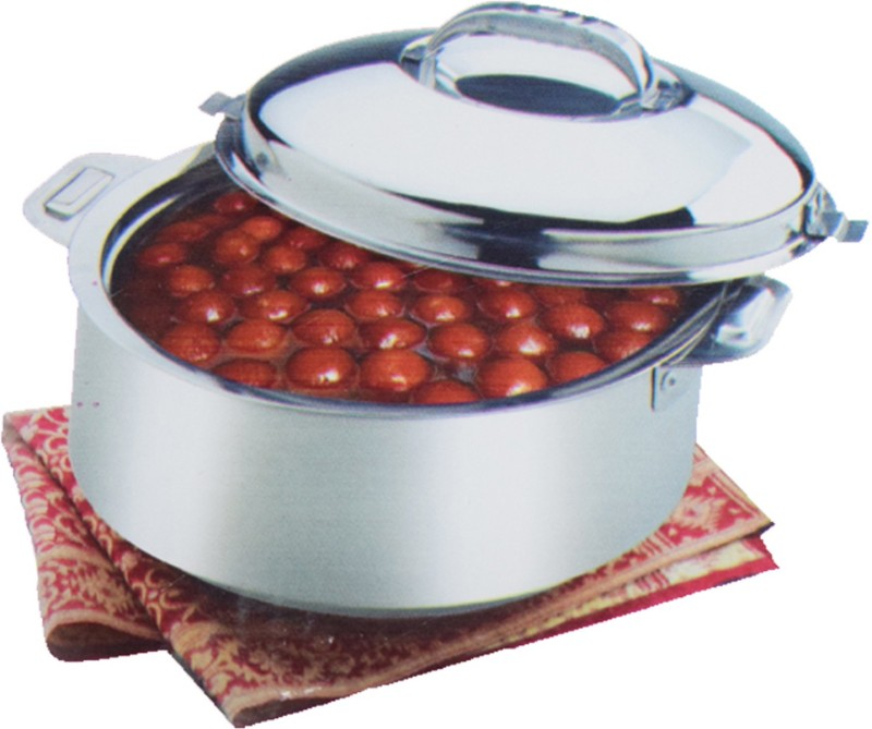 Kuber Industries Extra Large Size Casserole/Hotpot,Chapati Box/Chapati Container/Hot Case In Stainless Steel (20,000Ml) CAS15K09 Casserole(20000 ml)