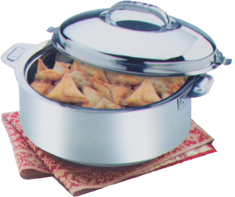 Kuber Industries Extra Large Size Casserole/Hotpot,Chapati Box/Chapati Container/Hot Case In Stainless Steel (15000Ml) CAS15K05 Casserole(15000 ml)