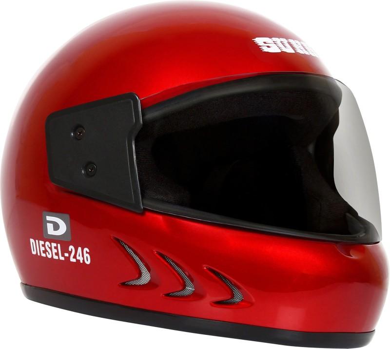 Sunny DIESEL 246 Motorbike Helmet(Red)