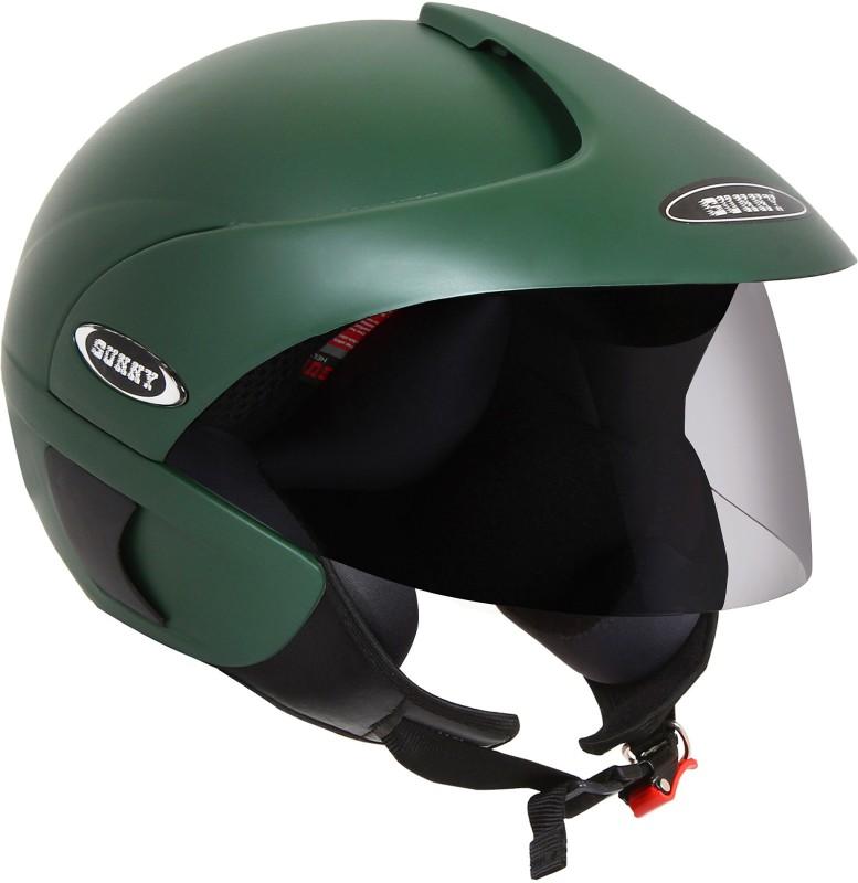 Sunny DELTA Motorbike Helmet(GREEN MAT)