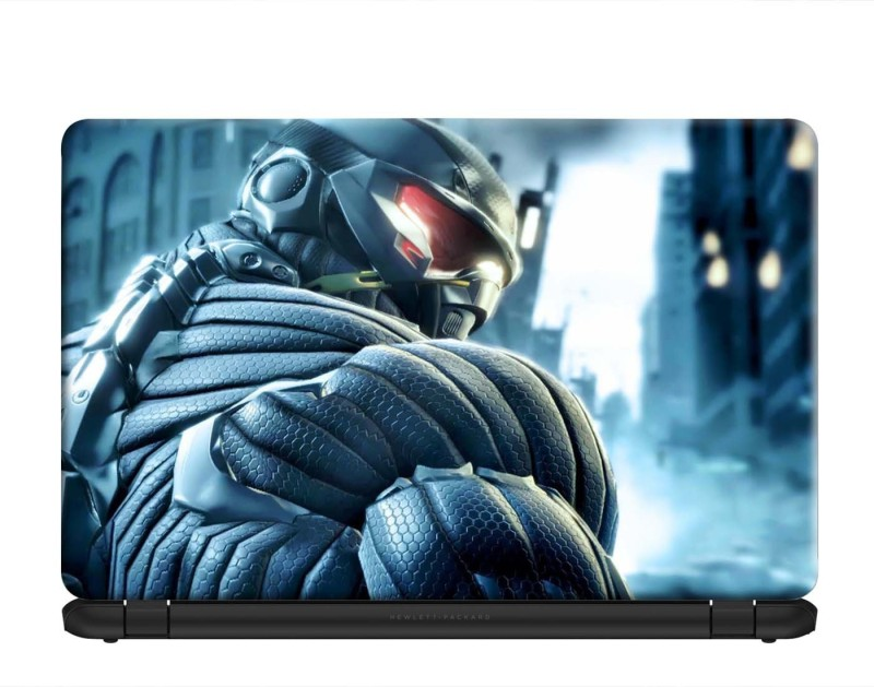 100yellow Crysis 3 Gaming Laptop Skins Sticker Decal 15.6 Inch for Dell HP Acer Asus Lenovo PVC Vinyl Laptop Decal 15.6