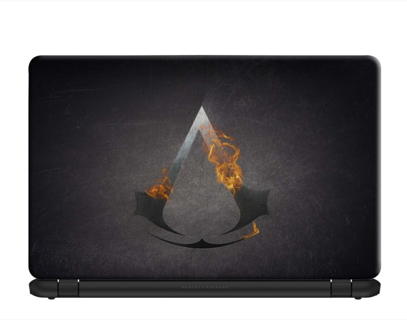 100yellow Assassins Creed Gaming Laptop Skins 15.6 Inch for Dell-Lenovo-HP-Acer PVC Vinyl Laptop Decal 15.6