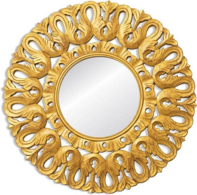 VAS Collection Home antique967 Decorative Mirror(Round)