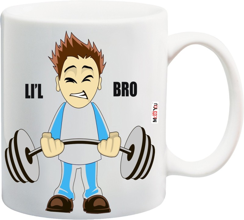 ME&YOU Rakhi Gifts, Rakhi Gift for Brother, Rakshabandhan Gifts, Birthday Gifts, Anniversary Gifts for Brother IZ18NSMU-335 Ceramic Mug(325 ml)