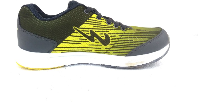 Campus Campus Derban D.Gry/Ylo Men Running Shoes Running Shoes For Men(Grey, Yellow)