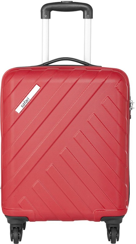 Safari HARBOUR 4W 55 NEW RED Cabin Luggage - 21 inch(Red)