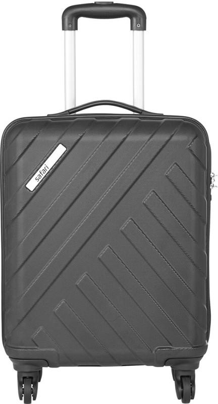 Safari HARBOUR 4W 55 BLACK Cabin Luggage - 21 inch(Black)