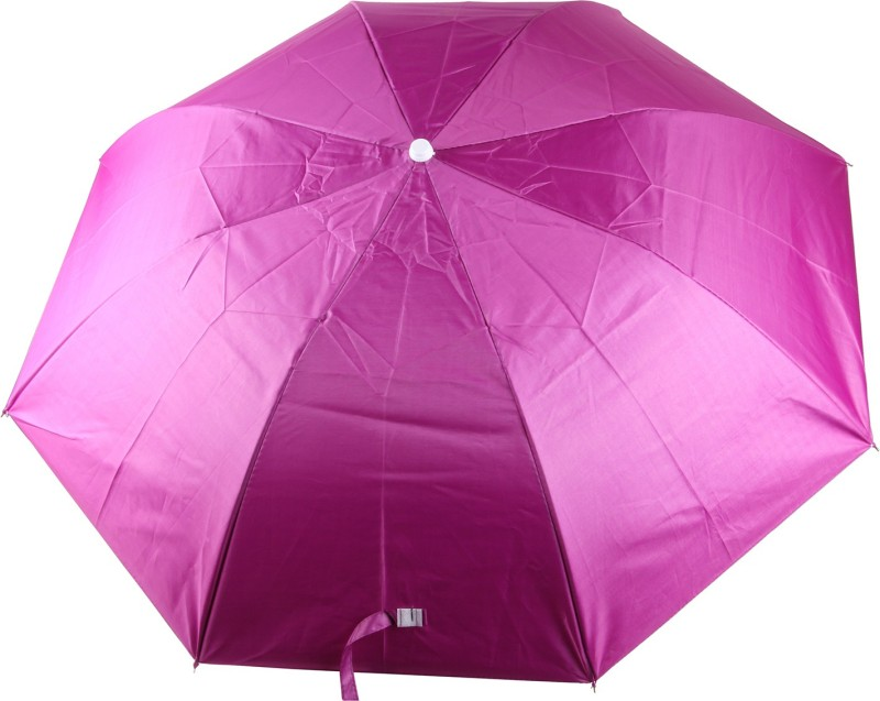 Saiballeza Classic Style With Pink Color Folding Facility Umbrella Umbrella(Pink)