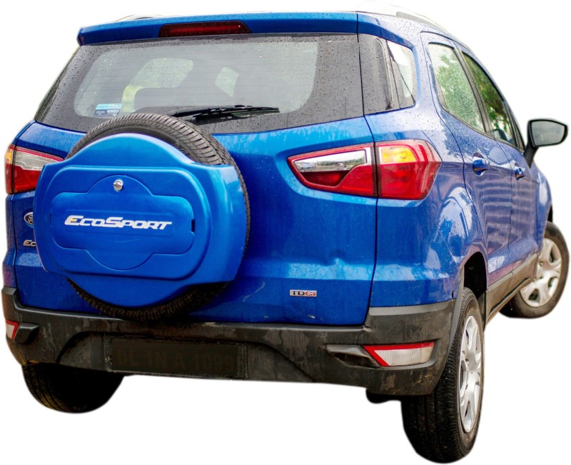 future it is HALF/SPORTY SPARE WHEEL COVER FOR FORD ECOSPORT(KINETIC BLUE) Wheel Cover For Ford Ecosport(13 cm)