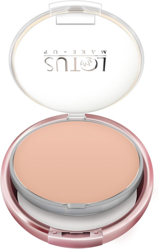 Lotus Makeup Ecostay Insta-blend Compact - 10 g(Rich Shell CC01)