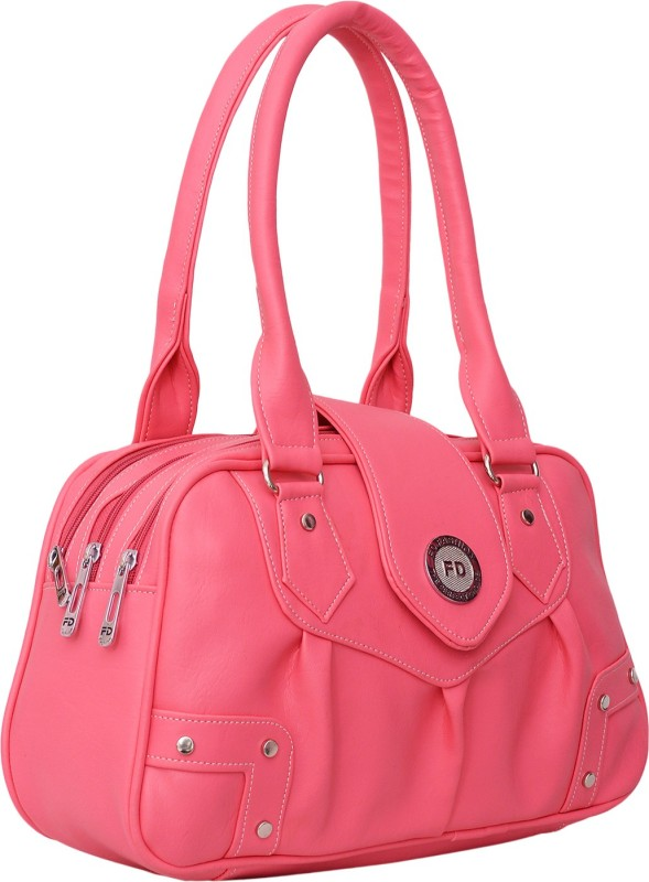 FD Fashion Hand-held Bag(Pink)