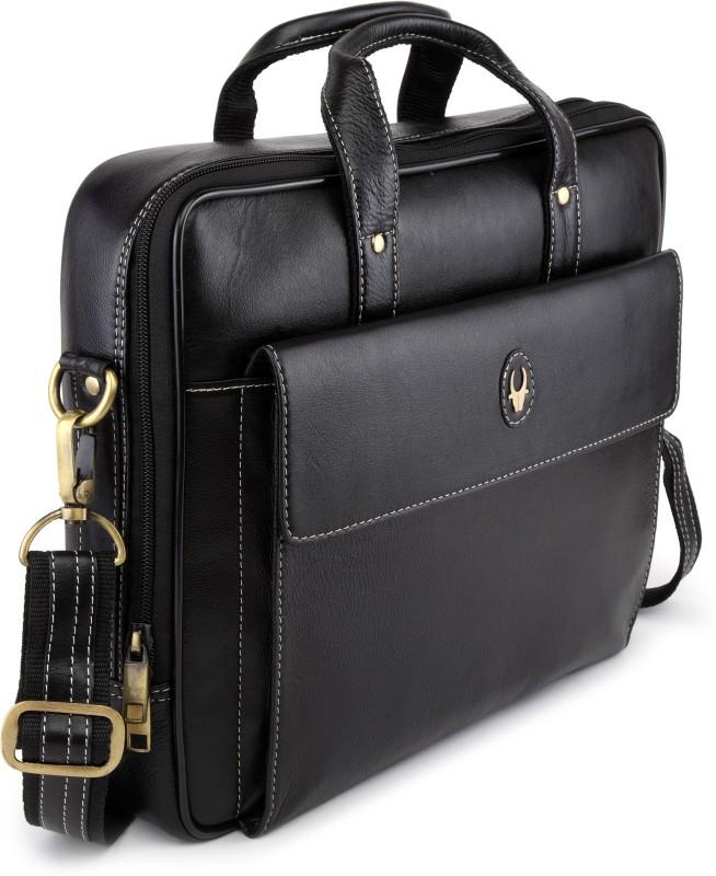 WildHorn Men Black Messenger Bag