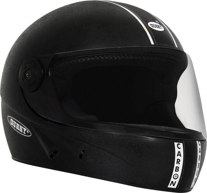 Sunny CARBON Motorbike Helmet(Black)
