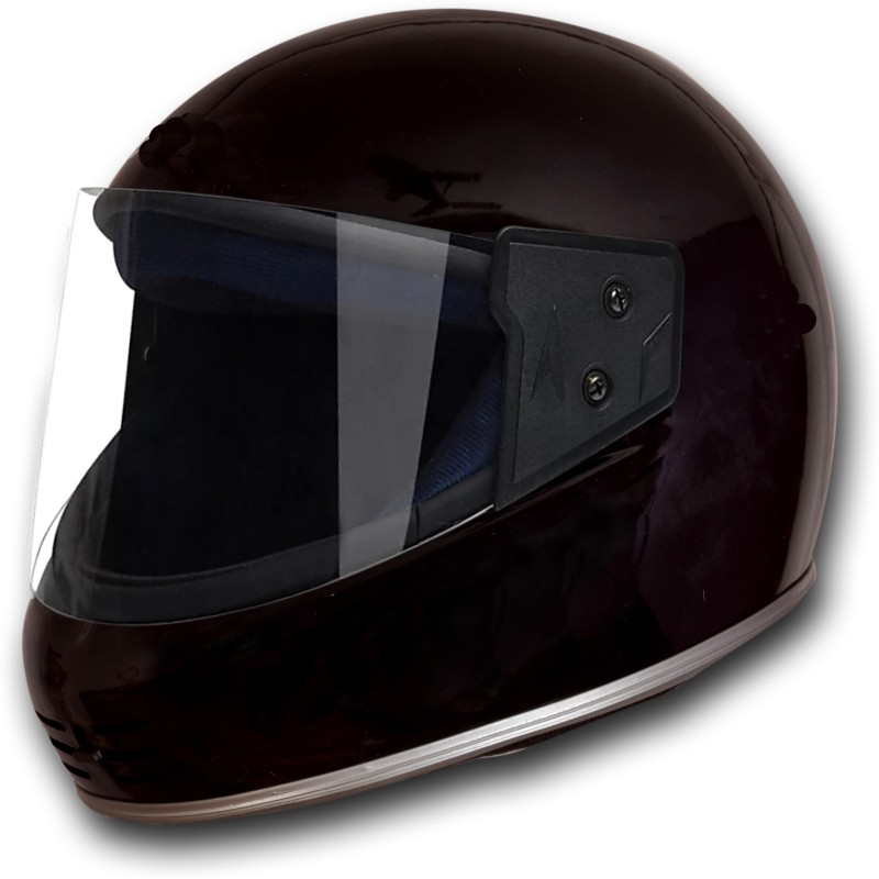 MOTOFLY PEACOCK FULL FACE (ISI APPROVED) Motorbike Helmet(Black)