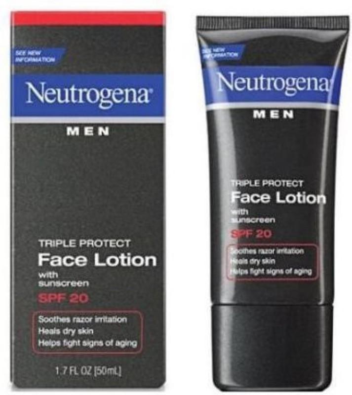 Neutrogena Men Triple Protect Face lotion(50.28 ml)