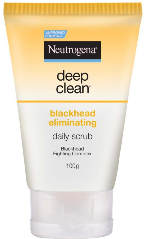 Neutrogena Deep Clean Blackhead Eliminating Daily Scrub(100 g)