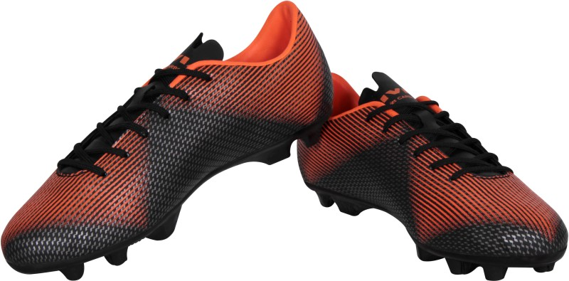 Nivia Premier Carbonite Football Shoes For Men(Orange)