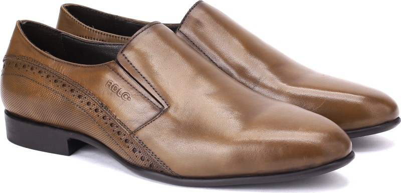 Lee Cooper LC2327 Slip On For Men(Tan)