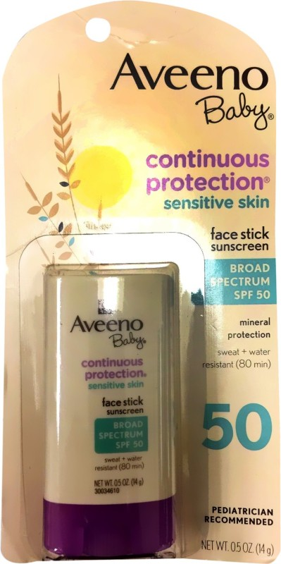 Aveeno Continuous Protection Face Stick - SPF 50(14 g)
