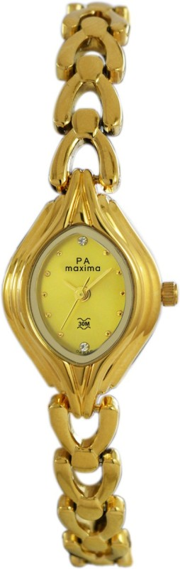 Maxima 04886BMLY Gold Women's Watch image.