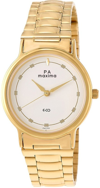 Maxima 26772CMGY Gold Men's Watch image