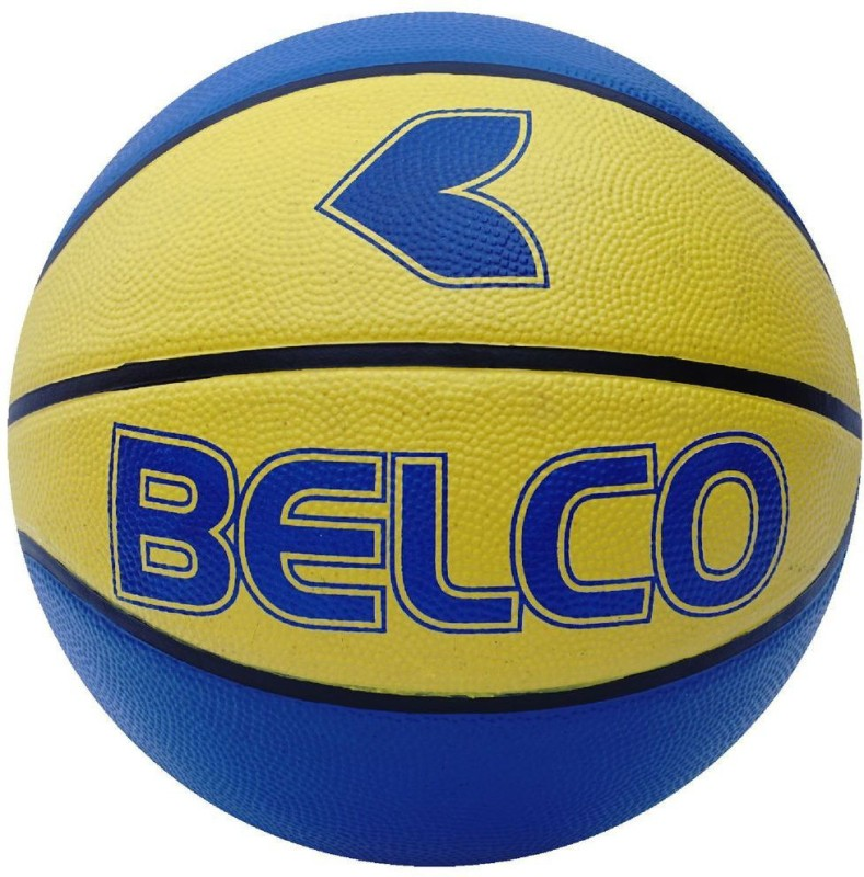 Belco New Viking Basketball Size 7 Yellow Basketball - Size: 7(Pack of 1, Multicolor)